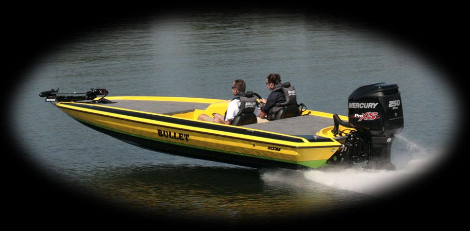 Bullet boats bass boats freshwater fishing boats for Freshwater fishing boats