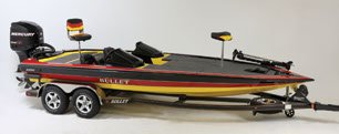 21XRD Bass and Fishing Boat Model